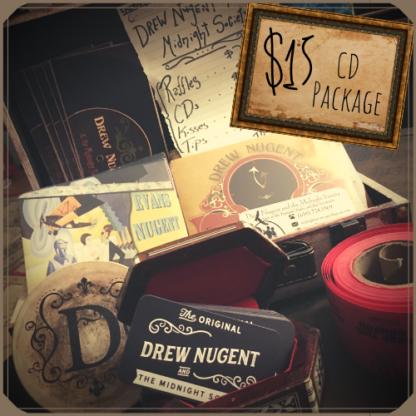 Drew Nugent - CD package