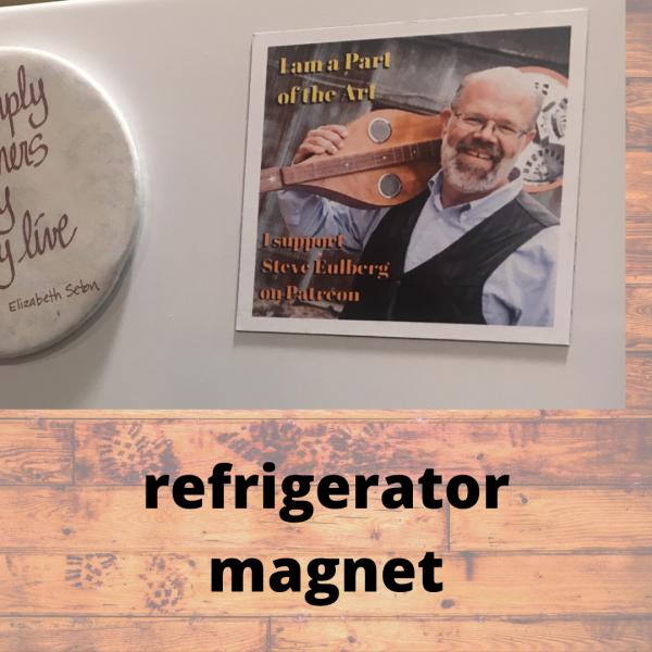 Steve Eulberg - refrigerator magnet