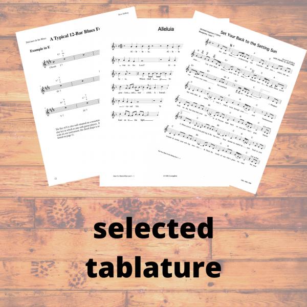 Steve Eulberg - selected tablature